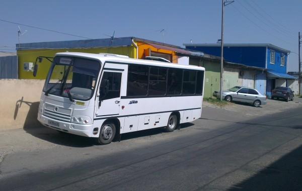 Тонирование стекол Автобуса